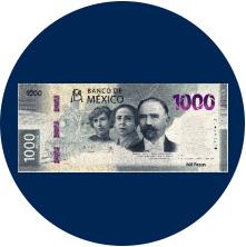 Nuevo Billete $1,000